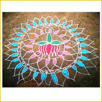 Geometric Kolam Design