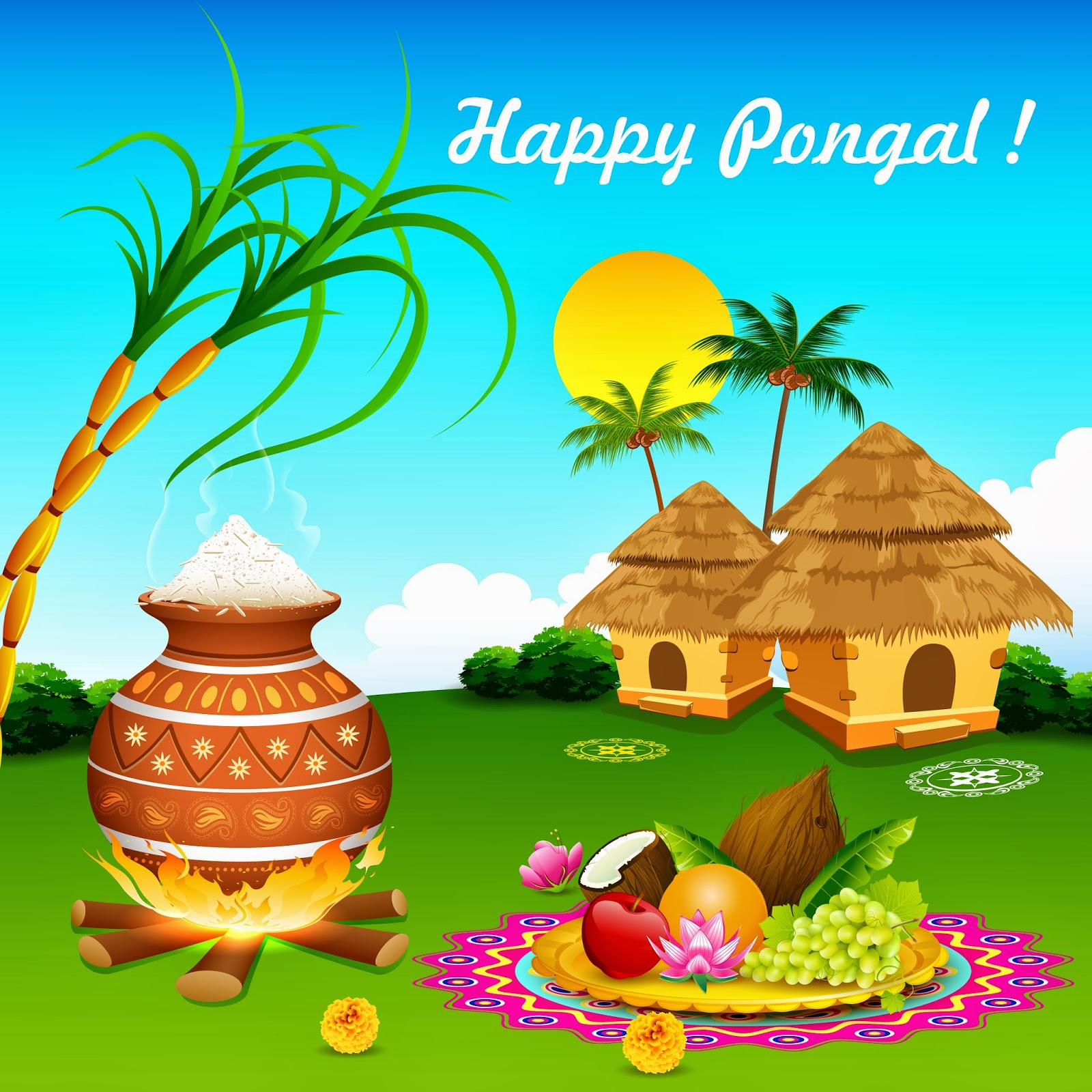 Pongal Picturespongal Graphicspictures Of Pongalpongal Picture